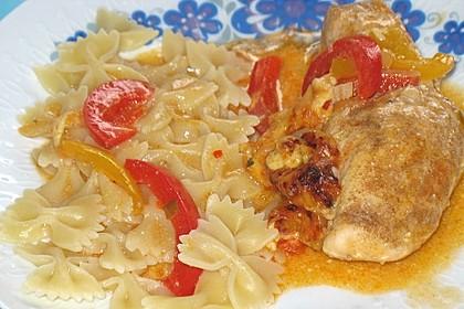 Paprika-Sahne-Hähnchen 159