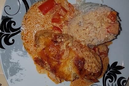 Paprika-Sahne-Hähnchen 70