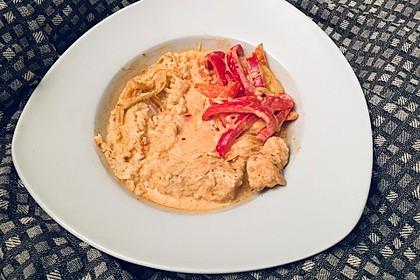 Paprika-Sahne-Hähnchen 163