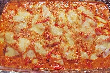 Paprika-Sahne-Hähnchen 240