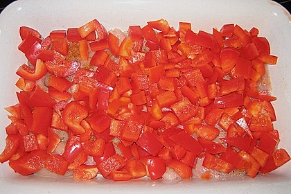 Paprika-Sahne-Hähnchen 207