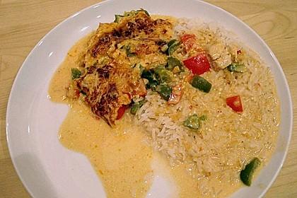 Paprika-Sahne-Hähnchen 150