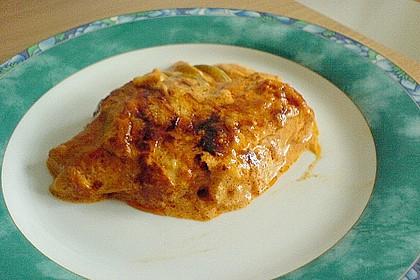 Paprika-Sahne-Hähnchen 140