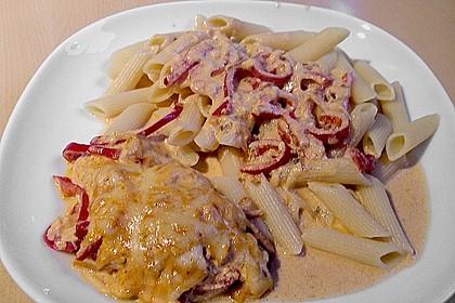 Paprika-Sahne-Hähnchen 55