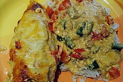Paprika-Sahne-Hähnchen 189