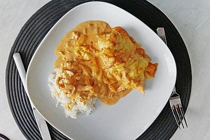 Paprika-Sahne-Hähnchen 185