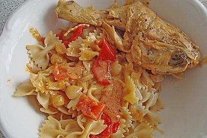 Paprika-Sahne-Hähnchen 84