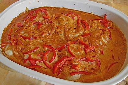 Paprika-Sahne-Hähnchen 14