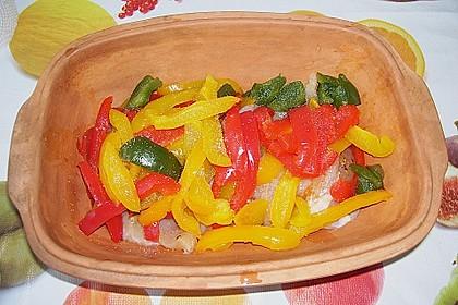 Paprika-Sahne-Hähnchen 275
