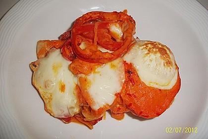 Paprika-Sahne-Hähnchen 160