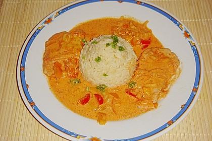 Paprika-Sahne-Hähnchen 15