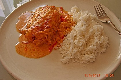 Paprika-Sahne-Hähnchen 20