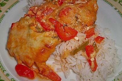 Paprika-Sahne-Hähnchen 24