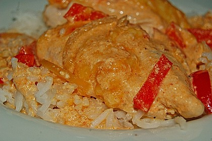 Paprika-Sahne-Hähnchen 40