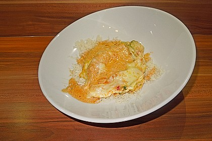 Paprika-Sahne-Hähnchen 180
