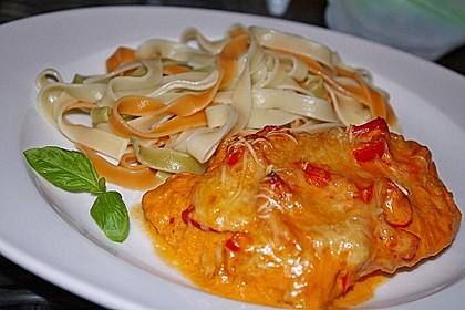 Paprika-Sahne-Hähnchen 2