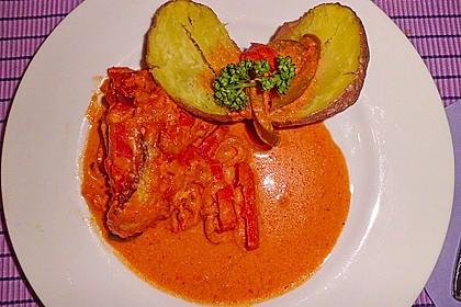 Paprika-Sahne-Hähnchen 82