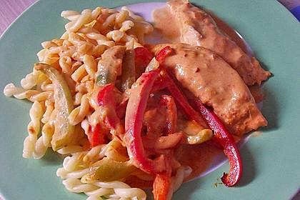 Paprika-Sahne-Hähnchen 121