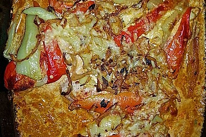 Paprika-Sahne-Hähnchen 157