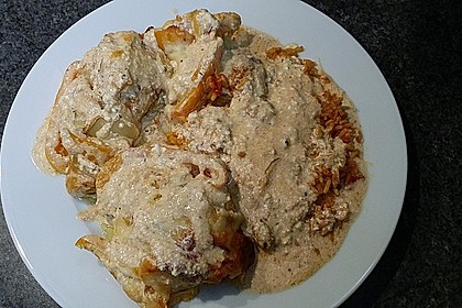 Paprika-Sahne-Hähnchen 187