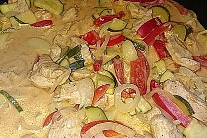 Paprika-Sahne-Hähnchen 226