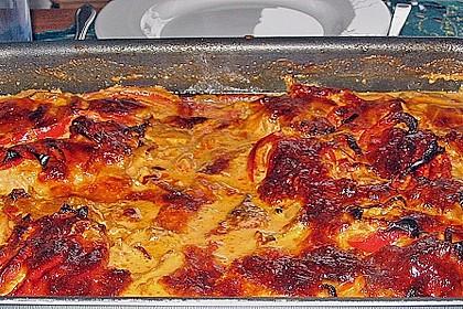 Paprika-Sahne-Hähnchen 220
