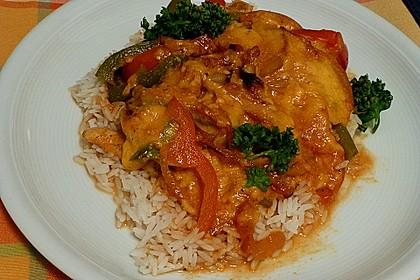Paprika-Sahne-Hähnchen 11