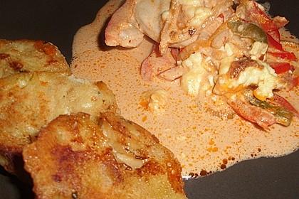 Paprika-Sahne-Hähnchen 49