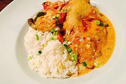 Paprika-Sahne-Hähnchen 8