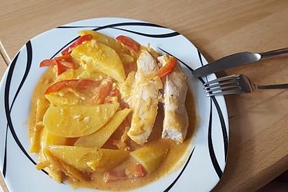 Paprika-Sahne-Hähnchen 108