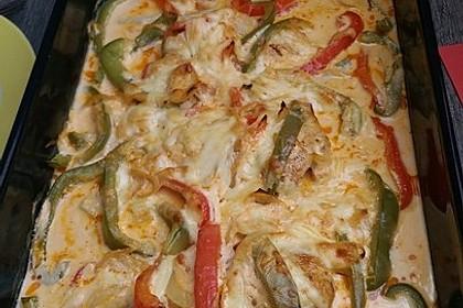Paprika-Sahne-Hähnchen 114