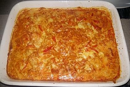 Paprika-Sahne-Hähnchen 250