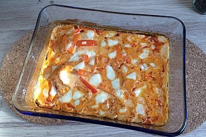 Paprika-Sahne-Hähnchen 155