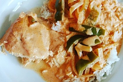 Paprika-Sahne-Hähnchen 135