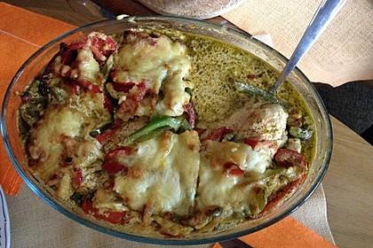 Paprika-Sahne-Hähnchen 115