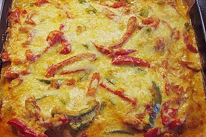Paprika-Sahne-Hähnchen 117