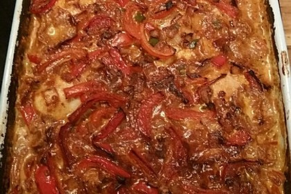 Paprika-Sahne-Hähnchen 173