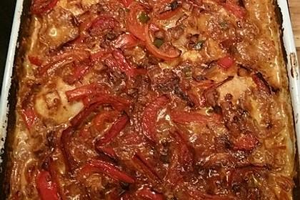 Paprika-Sahne-Hähnchen 204