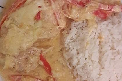Paprika-Sahne-Hähnchen 137