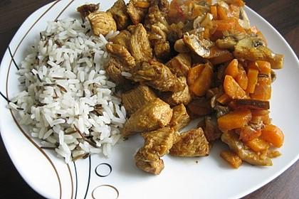 Asiatische Hähnchennuggets mit Gemüse 4