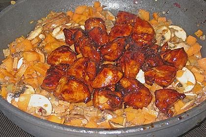 Asiatische Hähnchennuggets mit Gemüse 8