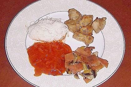 Asiatische Hähnchennuggets mit Gemüse 10