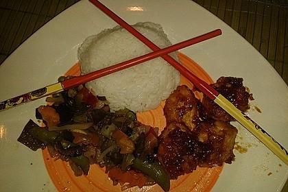 Asiatische Hähnchennuggets mit Gemüse 3
