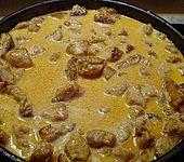 Curry-Geschnetzeltes (Bild)