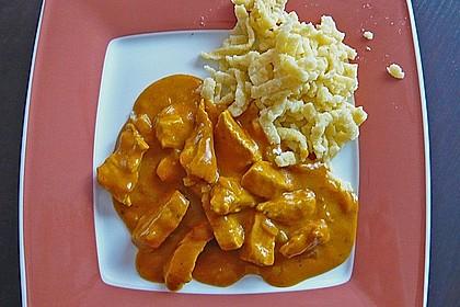 Curry-Geschnetzeltes 3