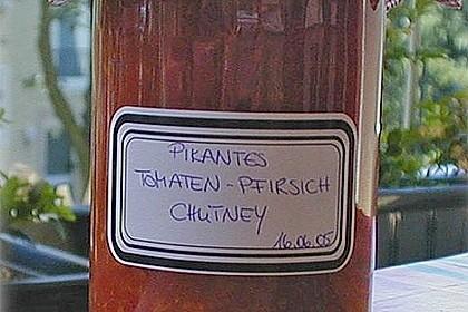 Pikantes Tomaten-Pfirsich-Chutney 5