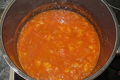 Pikantes Tomaten-Pfirsich-Chutney 1