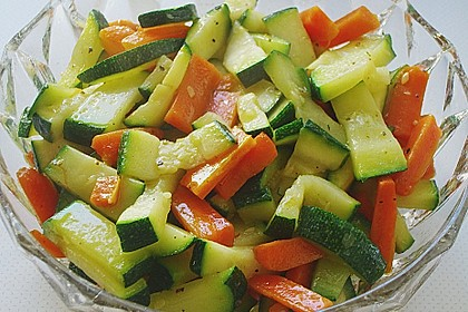 Zucchini-Möhren-Gemüse 3