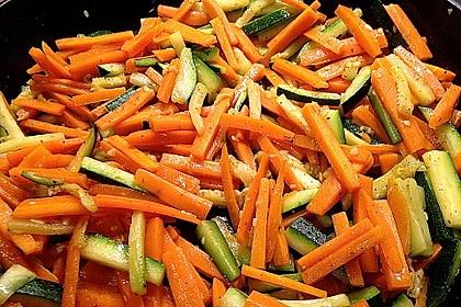 Zucchini-Möhren-Gemüse 5