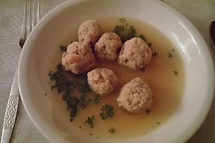 Kräuter-Leberknödel-Suppe 4